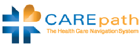 Carepath Logo with link to view testimonial